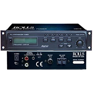 51zMAuh58YL. SL500 AA300  #9 Rolls Digital 1/2 Rack AM/FM Tuner   Rolls HR78 Lowest Price