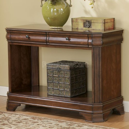 Cheap Traditional Medium Brown Sofa Console Table (T677-4)