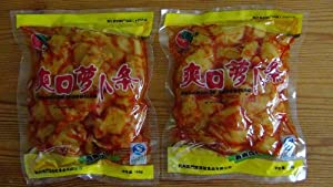 Pickled Radish, Spicy Flavor - 2 x 158 grams - Product of China from Hangzhou Qimentang Food