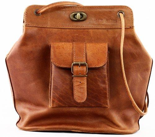 PAUL MARIUS borsa in pelle anni '50 ispirazione stile vintage modello Le1950