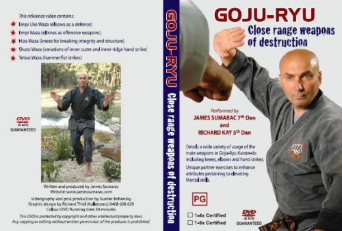 Goju Ryu karate: Close range weapons of destruction