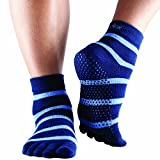 ToeSox Full Toe with Grip Yoga/Pilates Toe Socks