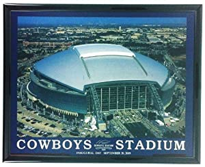 Dallas cowboys stadium picture framed art for Dallas cowboys stadium wall mural