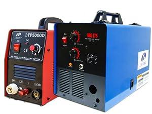Lotos Combo 50A Plasma Cutter + MIG175 Mig Welder FREE SPOOL GUN LTP5000DMIG175 from Lotos