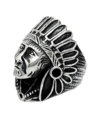 fansing-mens-stainless-steel-indian-chief-head-rings-ukmhjz387-9