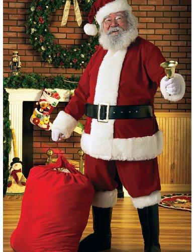 Rubie's Deluxe Velour Santa Suit