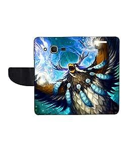 KolorEdge Printed Flip Cover For Samsung Galaxy Core Prime - Multicolor(45KeMLogo7973CorePrime)