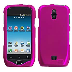 MyBat Samsung T759 (Exhibit 4G) Titanium Solid Phone Protector Cover - Retail Packaging - Hot Pink
