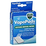 Vicks Refill Scent Pads, Soothing Menthol Vapors, 5 refill pads