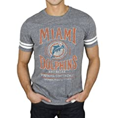 Miami Dolphins NFL Mens Tailgate T-Shirt By Junk Food Clothing by Junk Food