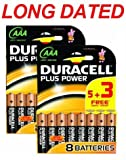 16x DURACELL Plus Power MN2400 AAA Batteries Long-Dated (Total Qty=16)