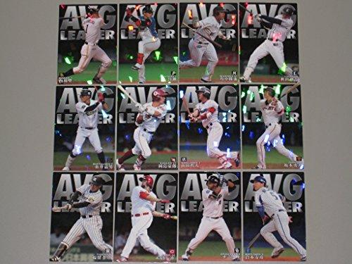 カルビー 2016プロ野球チップス第3弾 スペシャルボックス限定~チーム打率トップカード コンプセット 全12種