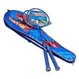Hot Wheels Badminton Racket Combo Set, Blue