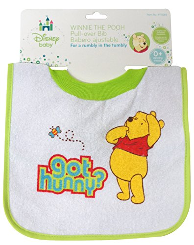 Winnie The Pooh Deluxe Pullover Bib - 1
