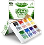 Crayola Classpack 200ct Ultra-Clean Washable Markers