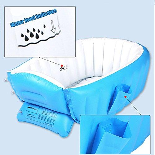 Blueidea Baby Swimming Pool Summer Bathtub Inflatable Anti Slippery Bath Pool 1pc Foldable