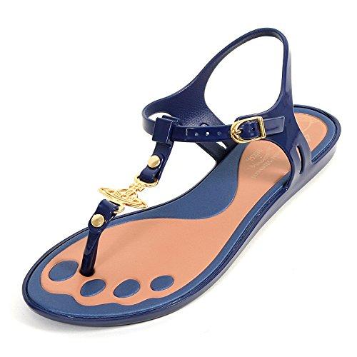 Melissa x Vivienne Westwood, Sandali donna Blu Azul - azul marino 39.5