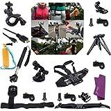 Sales La (R) Bundles Accessoires Kit Ensemble de 20in1 Kit professionnel pour Sony Action Cam HDR-AS15 / AS20 / AS30V / AS100V