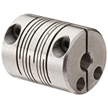 Ruland FCMR Clamping Beam Coupling, Stainless Steel, Metric