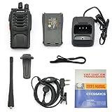 Ammiy-BAOFENG-888S-UHF-400-470MHz-Tragbar-Amateur-Handfunkgert-Walkie-Talkie-2er-Stck