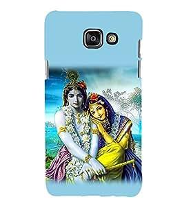 99Sublimation Radha Krishna 3D Hard Polycarbonate Designer Back Case Cover for Samsung Phones
