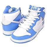 (ナイキ)Nike Dunk High Premium SB ダンク 白/水 313171-411 US10(28cm) ハイカットスニーカー メンズ ホワイト/カロライナブルー