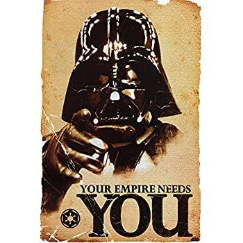 STAR WARS - Empire Needs You Poster 24 x 36in