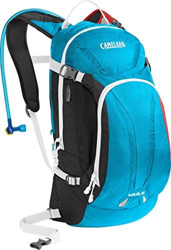 CamelBak M.U.L.E. Hydration Pack, Charcoal/Atomic/Barbados (Camelbak Mule Hydration Pack compare prices)