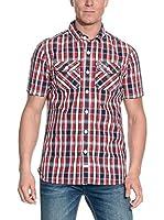 Superdry Camisa Hombre (Rojo)
