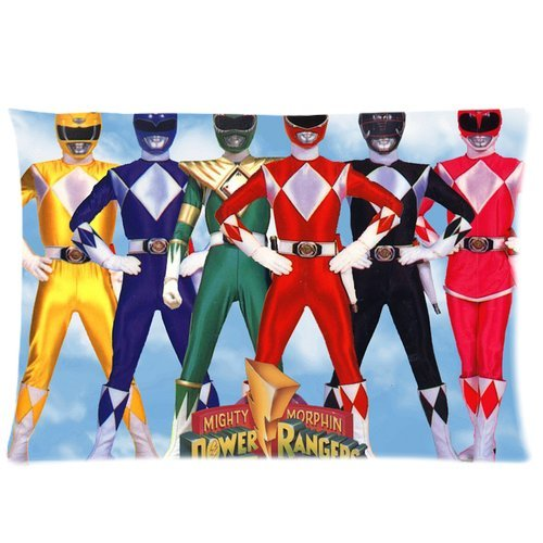 Power Rangers Pillowcase Standard Size 20