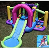 Inflatable drinking water Slides:Splash area - moist and dried out Fun