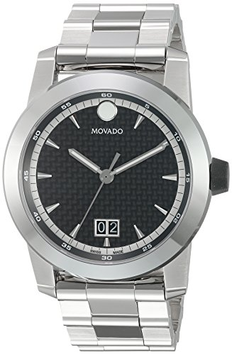 Movado-Mens-Swiss-Quartz-Stainless-Steel-Casual-Watch-ColorSilver-Toned-Model-0607050
