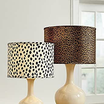 animal print limited edition lamp shade dodie 15 inch ballard design inspired jack o lantern lamp shades