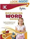 Kindergarten Beginning Word Games (Sylvan Workbooks) (Language Arts Workbooks)