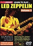 Learn To Play Led Zeppelin Volume 2 [DVD]