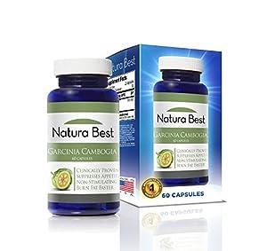 Garcinia Cambogia - Naturabest - 100 Pure Garcinia 60 1000mg Capsules from NaturaBest