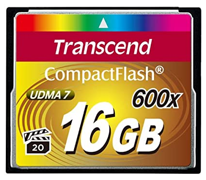 Transcend 16GB CF 600X Memory Card