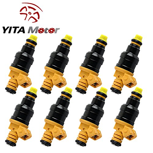 YITAMOTOR 8X Standard Flow Motor Products Fit Flow Matched Fuel Injector Set for Ford 4.6 5.0 5.4 5.8 0280150943 (Ford Fuel Injectors compare prices)