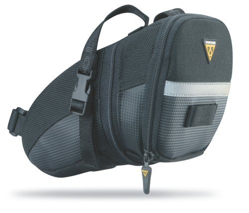Review Of Topeak Aero Wedge Pack with Strap mount (Large)