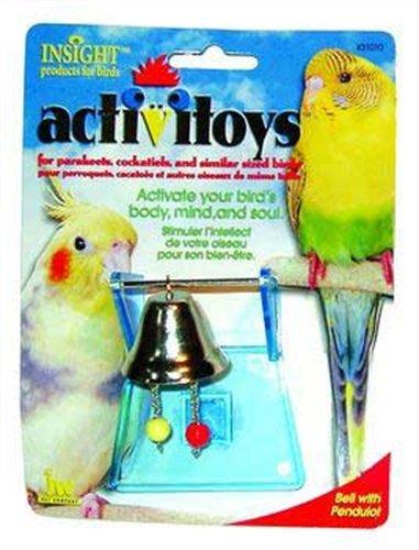 Cheap JW Pet Company Activitoys Bell with Pendulot Bird Toy (B0002DJV1O)