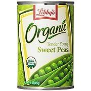 Libbys Organic Sweet Peas