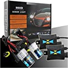 HID Kit Xenon Headlight Slim Conversion Kit Car HID Xenon Single Beam Bi Lights Bulbs Lamps H7 12000K (12V,35W)