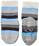 Sterntaler Baby-Jungen Socken Fli Fli Air Ringel, Schwarz (Schwarz 590), 18