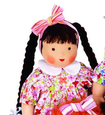 Kathe Kruse Heirloom-Quality German Waldorf Doll, In Liesl front-977850