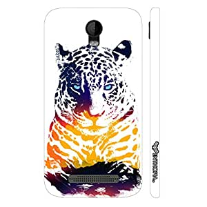 Micromax Bolt Q335 Cool Cheetah designer mobile hard shell case by Enthopia