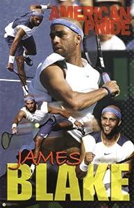 James Blake Poster Print, 22x35