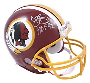 John Riggins Washington Redskins Autographed Riddell Pro-Line Authentic Helmet with... by Sports Memorabilia