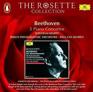 Piano Concertos Nos. 1 - 5 (Kempff, Kempen)
