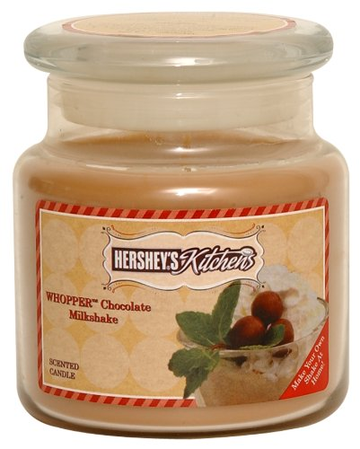 Hershey's by Hanna's Candle 16-Ounce Kitchen Whopper's Chocolate Milkshake Candle