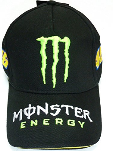 Monster Energy 46 Valentino Rossi Cap MotoGP Motegi original V Rossi KIR holder set